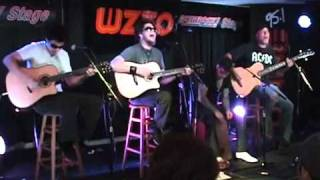Crossfade - Colors (Acoustic, WZZO-FM 95.1 Performance) - 2011