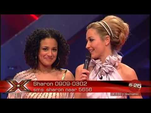 Sharon Kips - Something Happened On The Way To Heaven (Live @ X Factor 2007 Finals 3th Song)