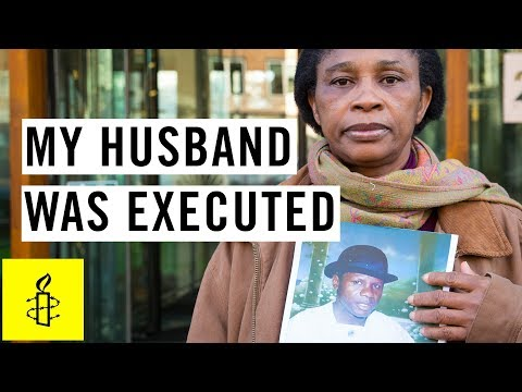 My husband was executed