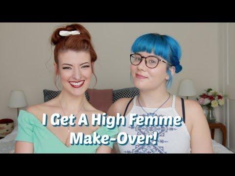 Being Femme and Disabled - Vintage Chatty GRWM Feat. Jessica Kellgren-Fozard