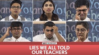 FilterCopy | Lies We All Told Our Teachers (Teachers' Day Special) | Ft. Banerjee, Akash Deep, Aisha