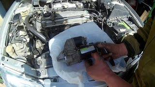 Лёха & ремонт стартера Mitsubishi Carisma 1996