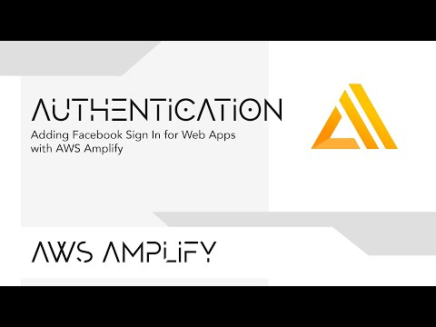 Adding Facebook Sign In for Web Applications with AWS Amplify