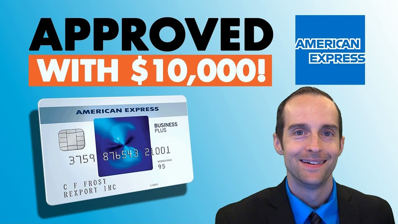 Download AMEX Blue Business Plus 0% Credit Card Application Approved with $10k Limit!