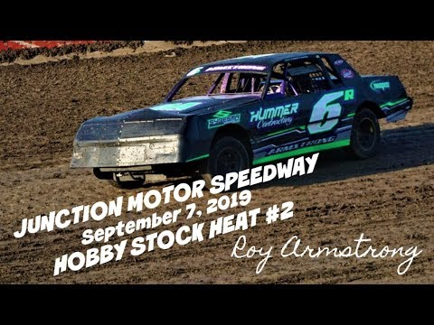 09/07/2019 Junction Motor Speedway Hobby Stock Heat #2