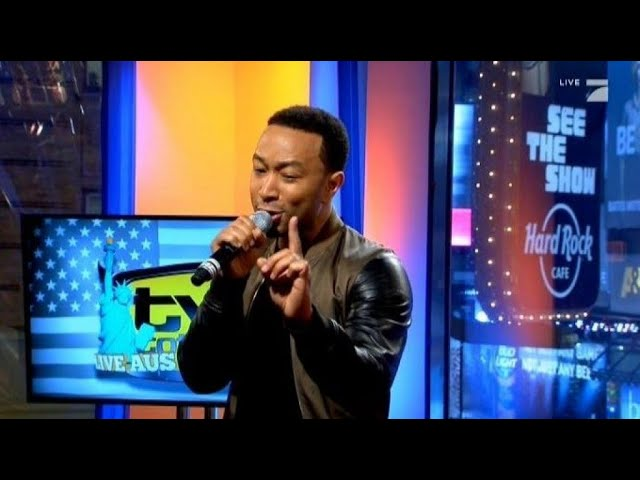 Romantik pur mit John Legend - TV total