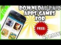 How to download purchase games free from aptoide