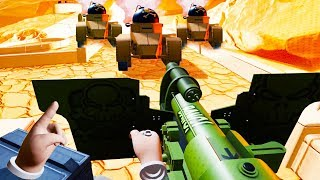Fighting Tanks Using MASSIVE CANNONS in VR! - The Steadfast VR Challenge Gameplay - VR HTC Vive