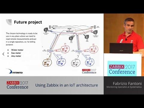 Using Zabbix in an IoT architecture