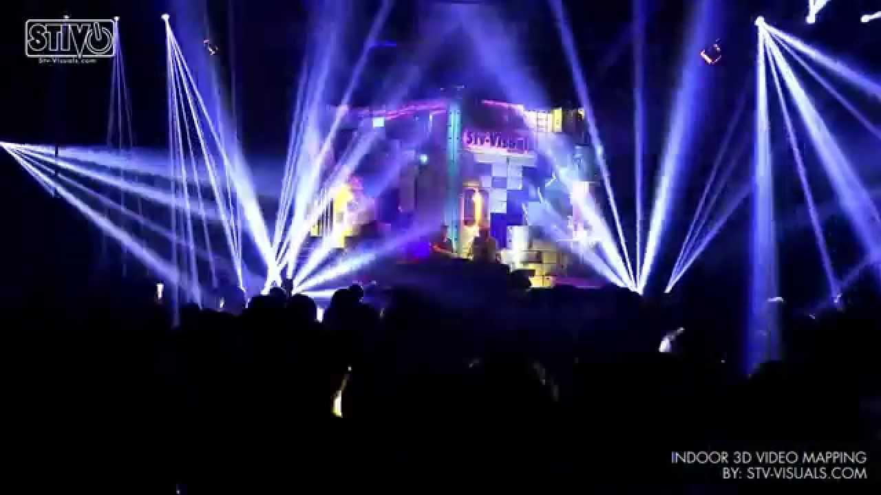 3D INDOOR VIDEO MAPPING, Stage Design