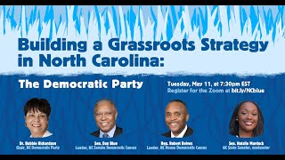 Building a Grassroots Strategy in North Carolina: The Democratic Party