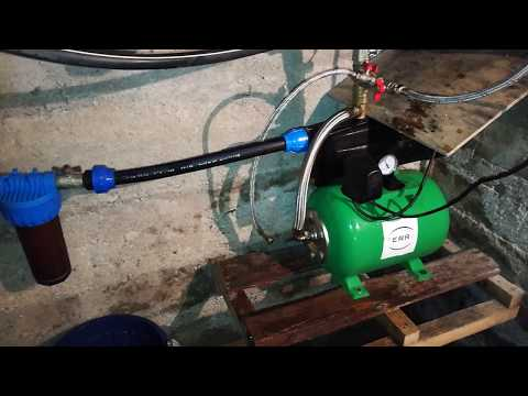 Замена водяного фильтра насосной станции