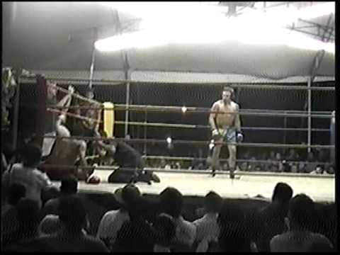 Tim Gorman in Thailand - Muay Thai Championship