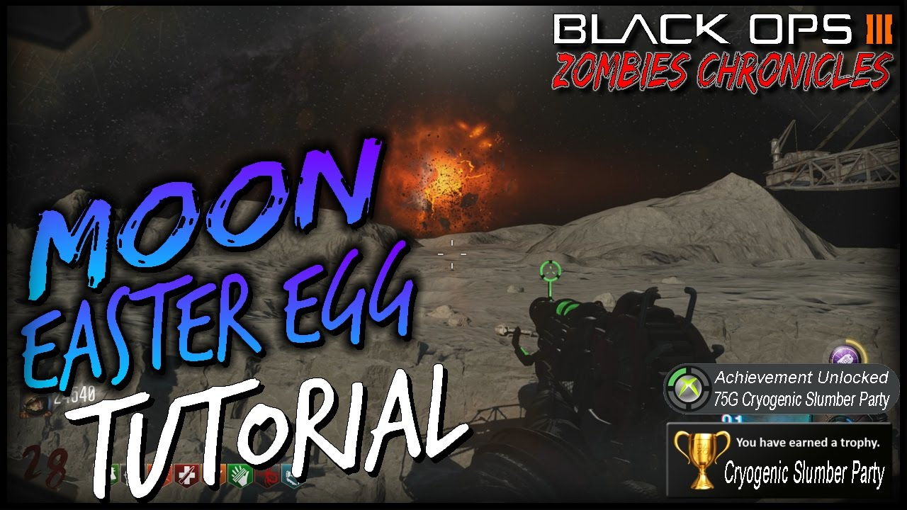 Moon Remastered Easter Egg Tutorial Black Ops 3 Zombies Chronicles