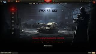 FV215B 183 on WoT Black Market thumbnail