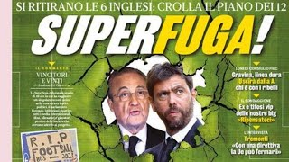 Scontro UEFA-Super League! Ed è già vigilia di Spezia-Inter!