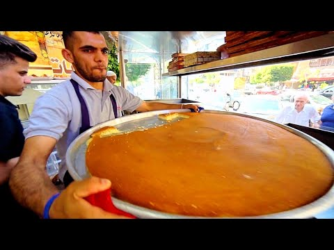 Beirut's BEST Street Food - LEBANESE BREAKFAST at Al Soussi!! Street Food in Beirut Lebanon!