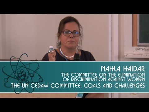 """""""The UN CEDAW Committee: goals and challenges""""."""