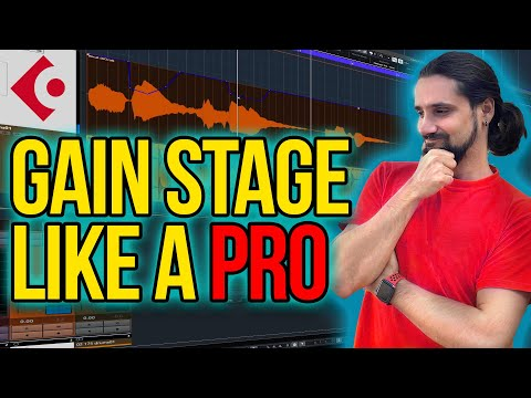 The No.1 trick for LOUD mixes – Gain-Stage like a PRO in Cubase #cubase #mixing #gainstaging