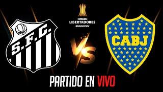 🔴 Santos VS Boca Juniors - COPA LIBERTADORES 2020 EN VIVO - Semifinal (VUELTA)