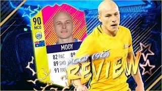 MOOY TOTMD (90) REVIEW EN ESPAÑOL | ¡UN MEDIOCAMPISTA COMPLETO! | FIFA 18