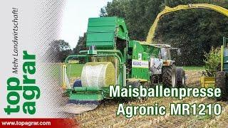 Maisballenpresse MR1210 MultiBaler von Agronic