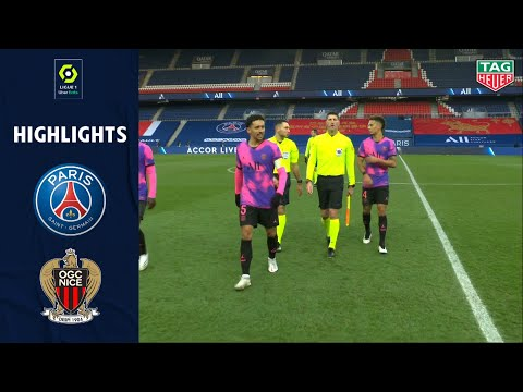 PSG Nice Goals And Highlights