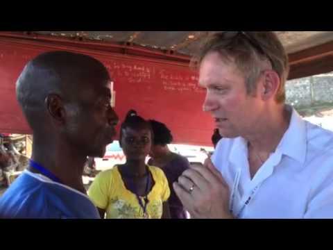 Meet a real Ebola Warrior, Freetown, Sierra Leone