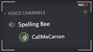 I rigged a Discord Spelling Bee...