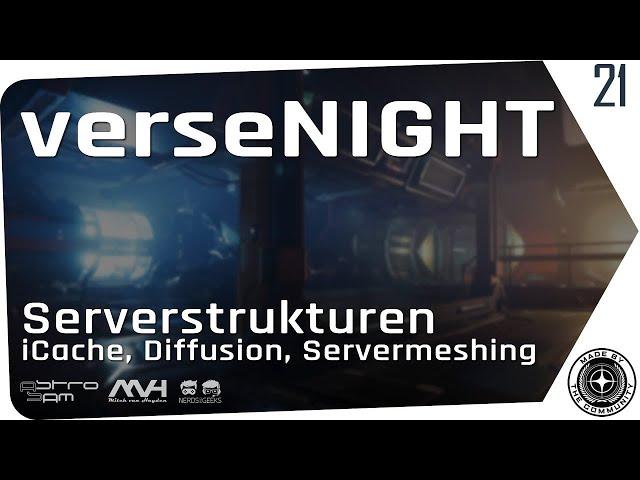 verseNIGHT 🚀 Star Citizen Talk & Musik #Servermeshing #iCache #Diffusion (Deutsch/German 08.09.2020)
