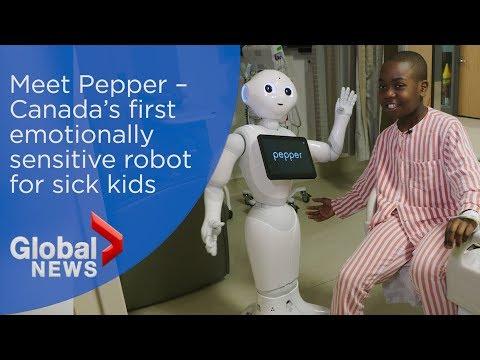 Meet Pepper – Canada's first talking, dancing, emotionally sensitive robot