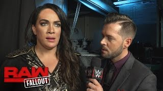 "Nia Jax promises to ""walk all over The Boss"" at WWE Fastlane: Raw Fallout, Feb. 27, 2017"