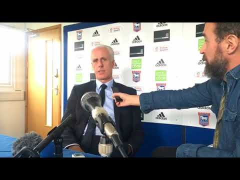 Mick McCarthy's press conference Ipswich Town v Cardiff City