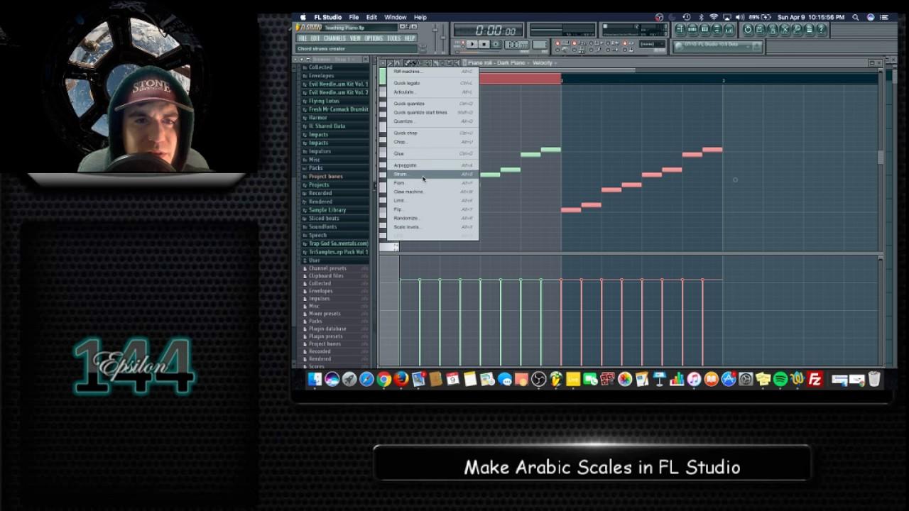 Arabic Scales in FL Studio