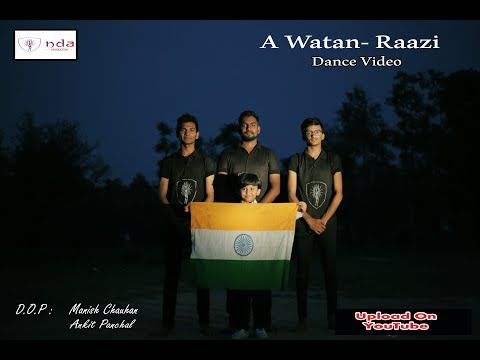 Ae Watan - Raazi Dance Video | Independence Day Special | Rishi Panchal, Dilip, Jayesh, Parth