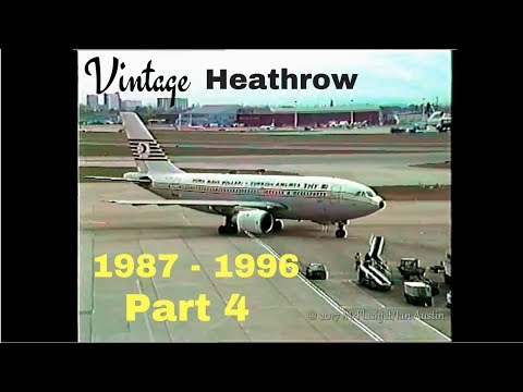 A Day at the Queens Building - Heathrow Airport 1987 - 1996) Part 4