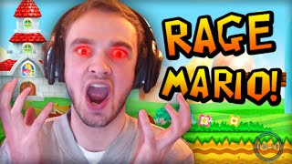 UNFAIR MARIO... I HATE YOU! (RAGE)