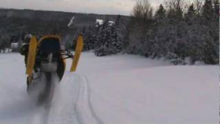 Ski Doo REV MXZ X-RS 800 Catwalk Fly-By
