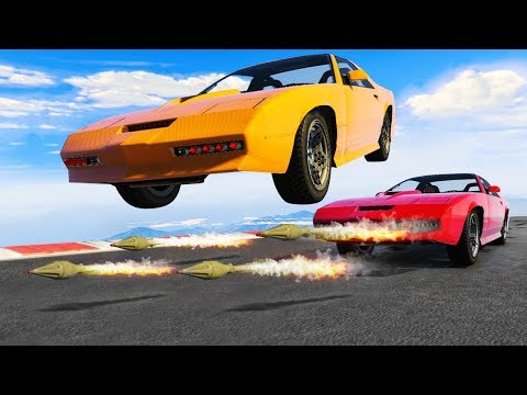 TRY TO DODGE THE 200MPH ROCKETS! (Gta 5 Funny Moments)