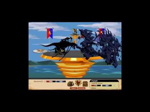 Dragonfable Doom Knight Armor