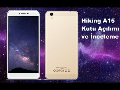 Hiking A15 Kutu Açılımı ve İnceleme   Türk Üretimi Akıllı Telefon