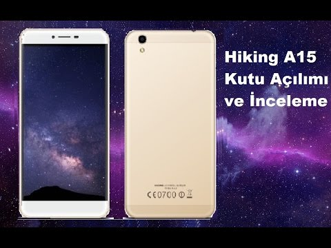 Hiking A15 Kutu Açılımı ve İnceleme | Türk Üretimi Akıllı Telefon
