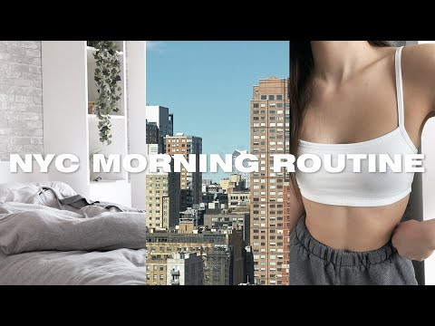 my NYC morning routine 2021 | self-employed morning routine