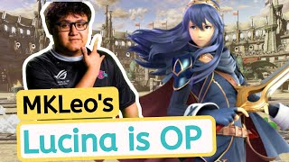 MKLeo's Lucina is OP | Lucina Smash Ultimate | Lucina Super Smash Bros Ultimate | SSBU