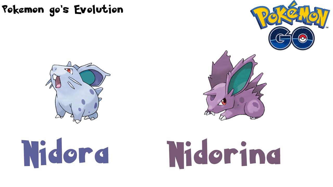 Pokemon Go S Evolution Nidoran Evolves Into Nidorina