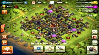 Clash of Clans - 4,000 Trophies Pushing & Top 10 in The World! #1