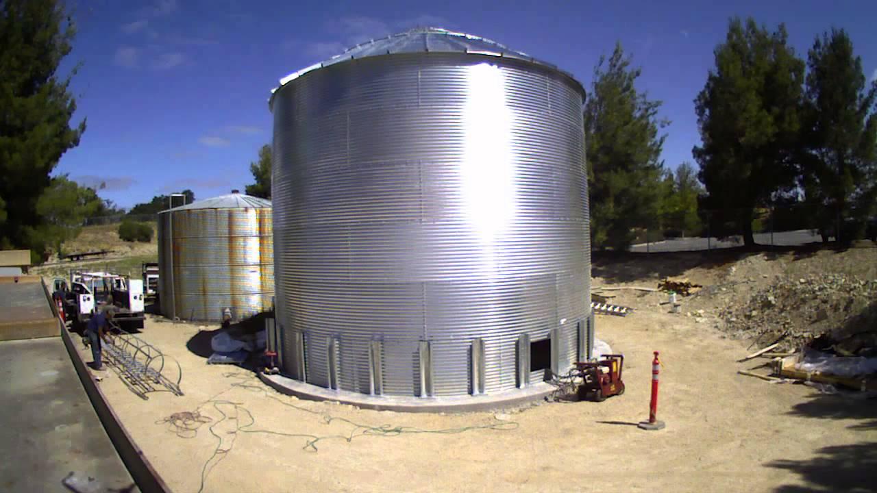 corrugated metal water storage tanks dandk organizer. Black Bedroom Furniture Sets. Home Design Ideas