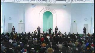 Friday Sermon: 3rd December 2010 - Part 1
