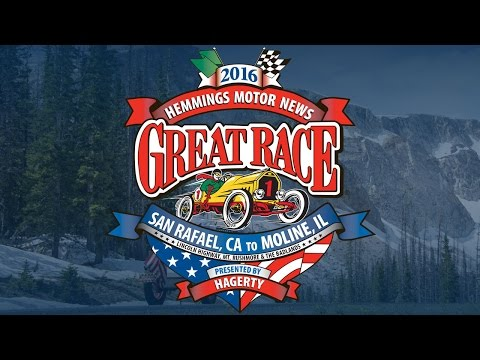 2016 Hemmings Motor News Great Race presented by Hagerty