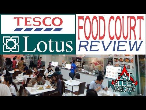 Tesco Lotus Food Court review